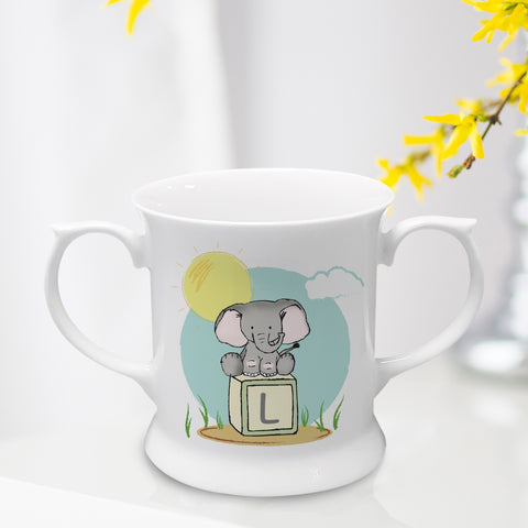 Bone China Personalised Loving Cup