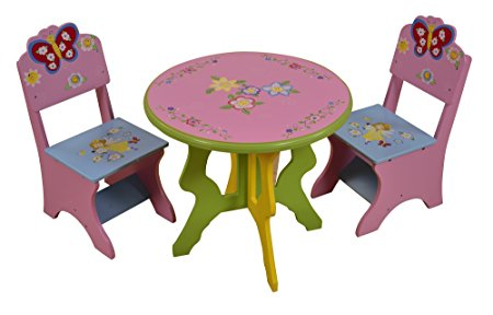 Fairy Design Table & Chairs
