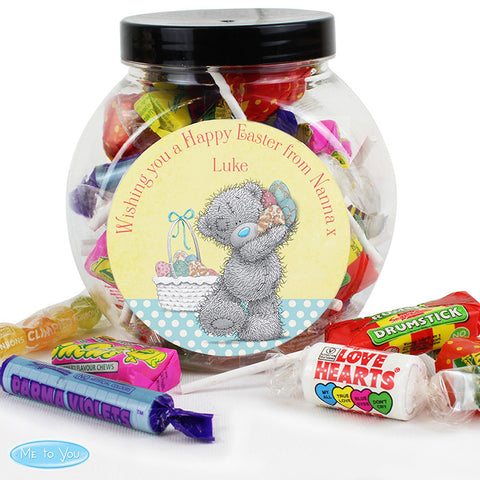 Personalised Me To You Easter Jar Of Sweets