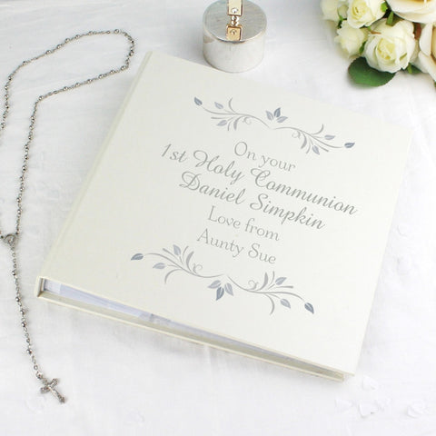 Personalised 1st Holy Communion Personalised Photo Album With Sleeves