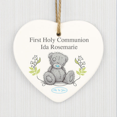 Me To You First Holy Communion Ceramic Heart Decoration