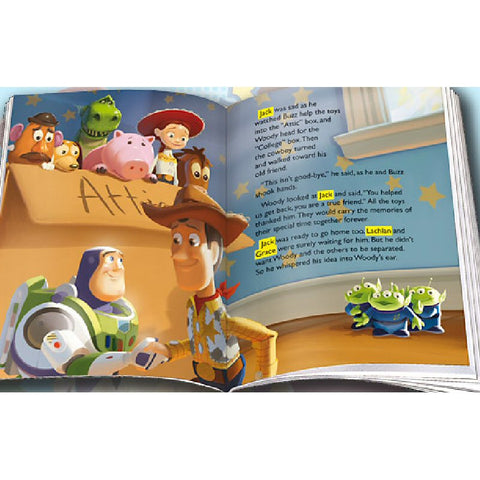Disney Toy Story 3 Personalised Adventure Book - Harringtons