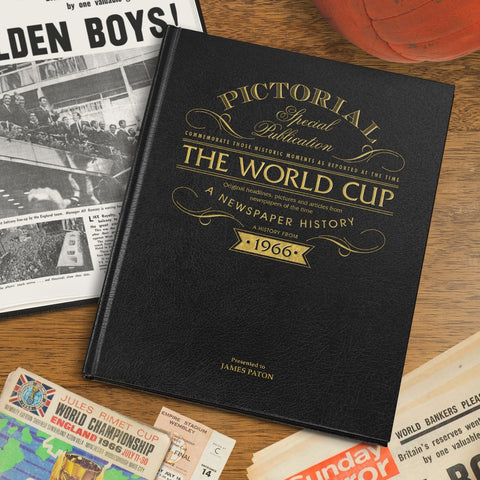 Football World Cup Pictorial Edition Personalised Newspaper Book