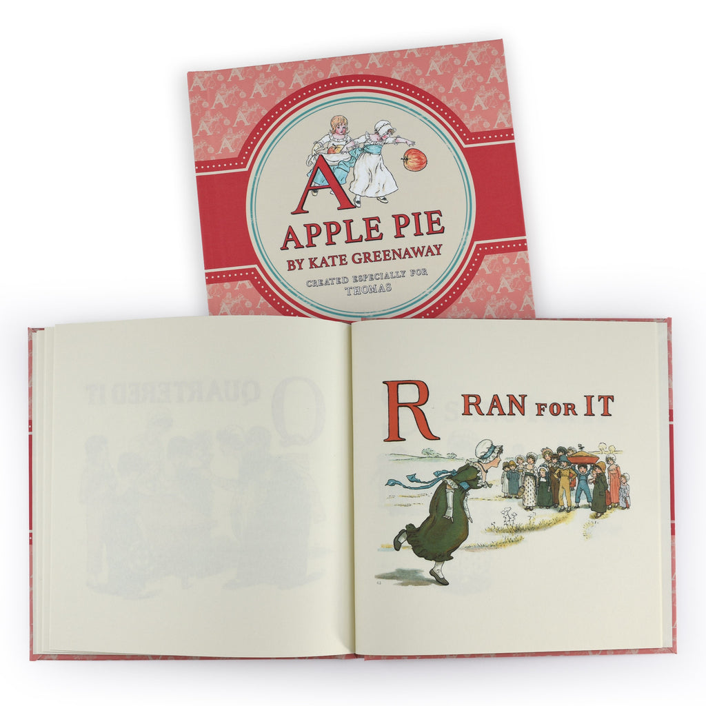 A is for Apple Pie - From the Archive Personalised Hardback Book