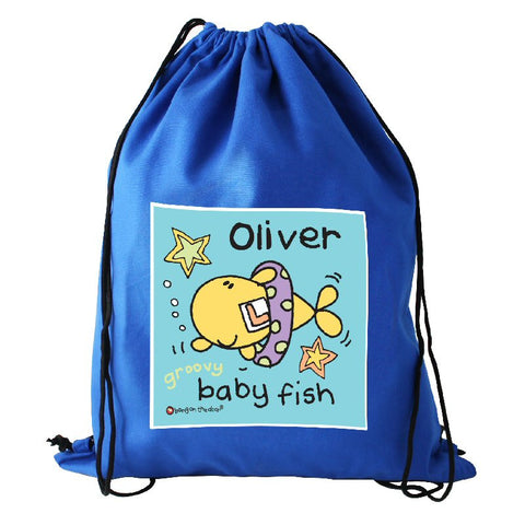 Cute Fish Personalised Swim Bag - Harringtons