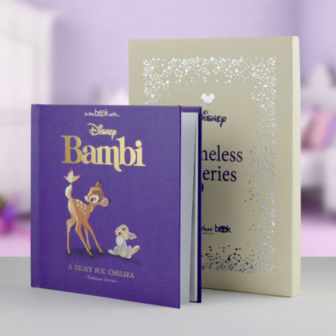 Bambi Personalised Hardback Book, Disney Timeless Edition