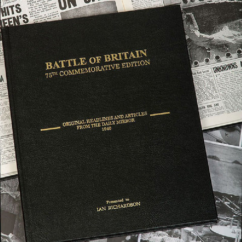 Battle Of Britain Personalised Book - Harringtons