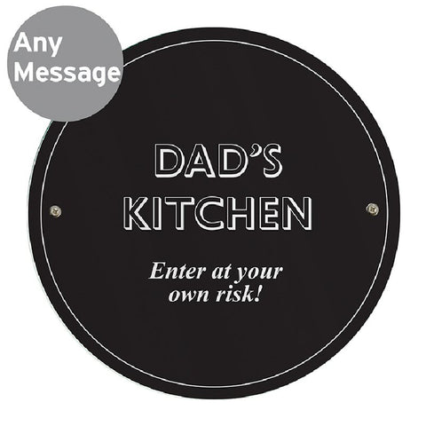Black Personalised Garden / House Sign - Harringtons