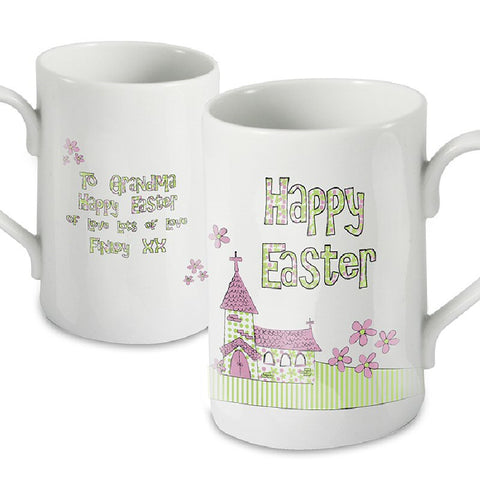 Church Design Personalised Easter Mug - Harringtons