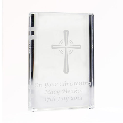 Personalised Crystal Confirmation Bible - Harringtons