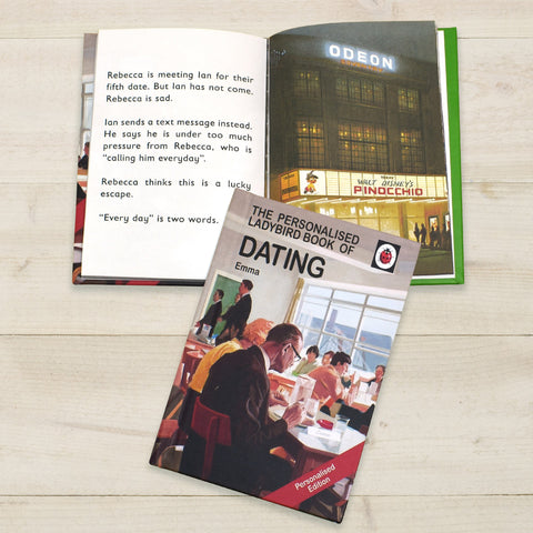 Dating Personalised Ladybird Book For Adults