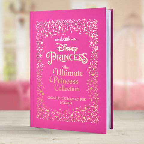 Disney Princess Ultimate Collection Personalised Hardback Book