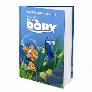 Disney Finding Dory Personalised Hard Cover Book - Harringtons