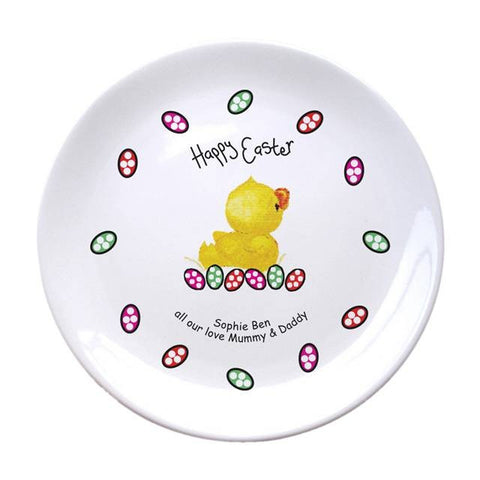 Happy Easter Personalised Bone China Plate