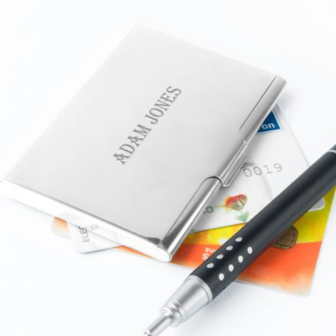 Personalised Business Card Case - Harringtons