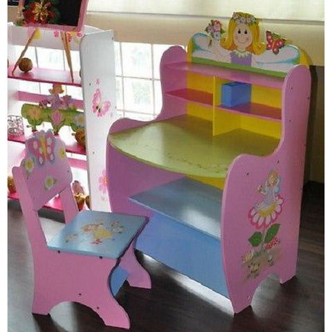 Fairy Design Child's Desk & Chair - Harringtons