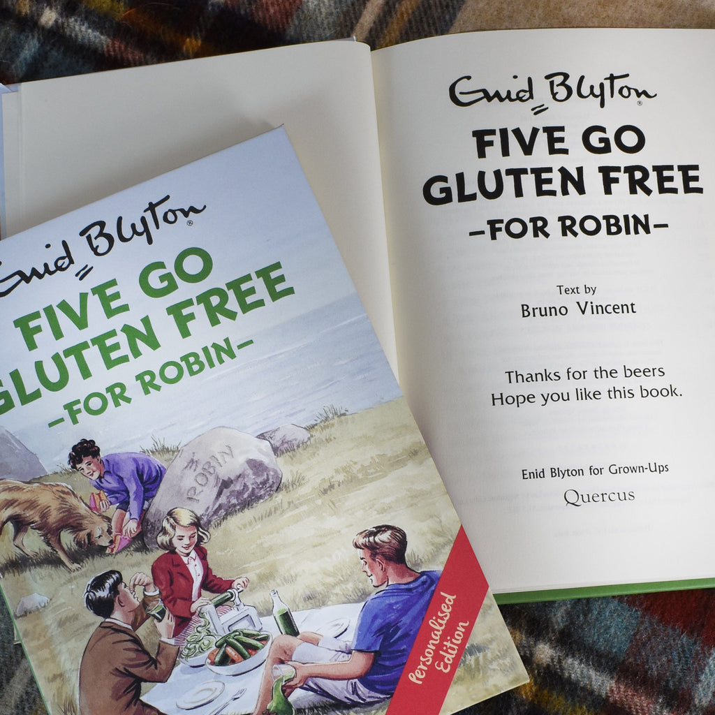 Five Go Gluten Free Personalised Famous Five Book For Adults