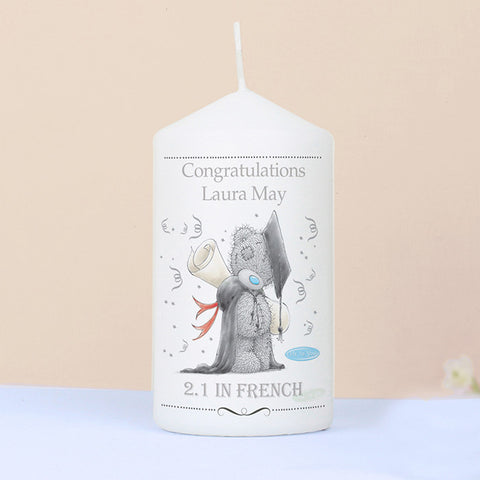 Me To You Personalised Graduation Candle - Harringtons