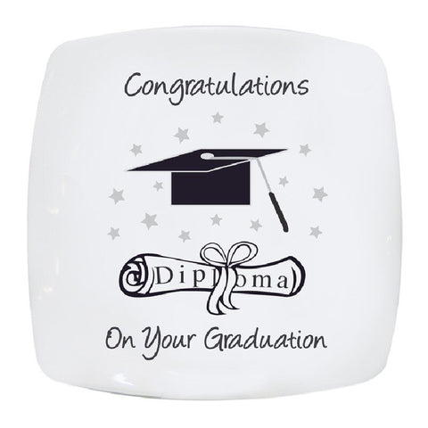 Graduation Keepsake Plate - Harringtons