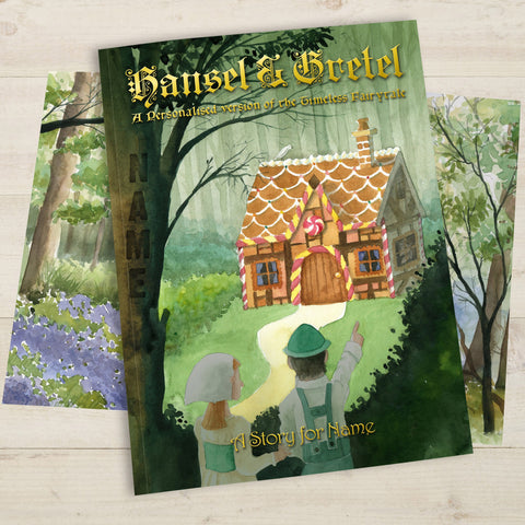 Hansel & Gretel Personalised Hardback Book
