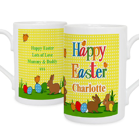 Happy Easter Personalised Mug - Harringtons
