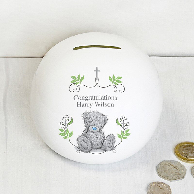 Me To You Natures Blessing Personalised  First Holy Communion Money Box - Harringtons