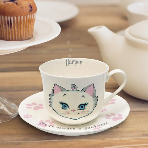 Bone China Tea Is Always A Good Idea Personalised Cup & Saucer