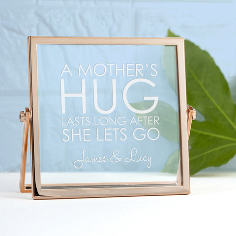 A Mother's Hug Personalised Frame