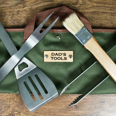 BBQ Tools Set In Personalised Bag - Harringtons