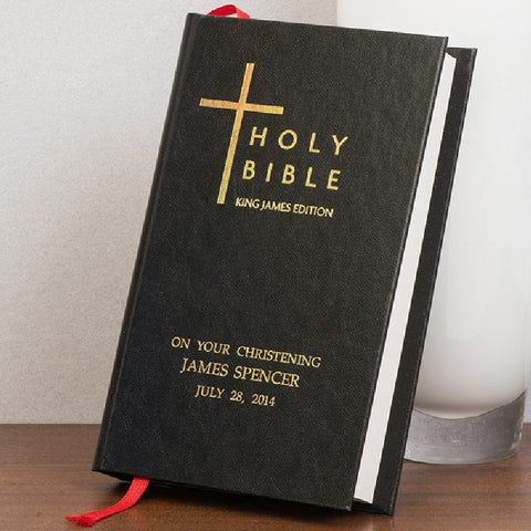 Personalised Christening Bible - Harringtons