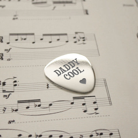 Daddy Cool Guitar Plectrum