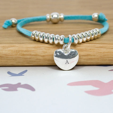 Blue Personalised Friendship Bracelet - Harringtons
