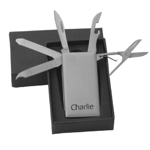 Personalised Multi Tool Money Clip - Harringtons