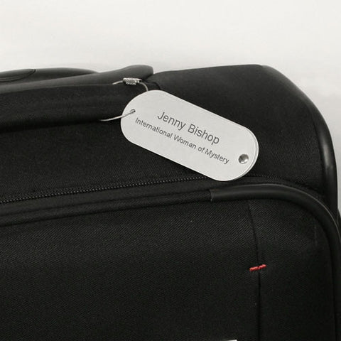 Personalised Travel Tag - Harringtons
