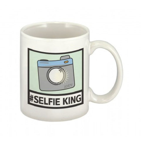 #Selfie King Personalised Mug - Harringtons