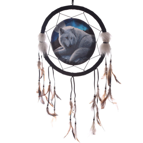 Guardian Wolf 33cm Dreamcatcher