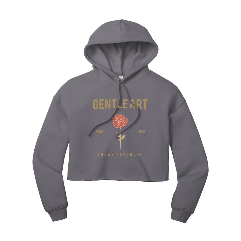 Gentle Art Women's Crop Hoodie