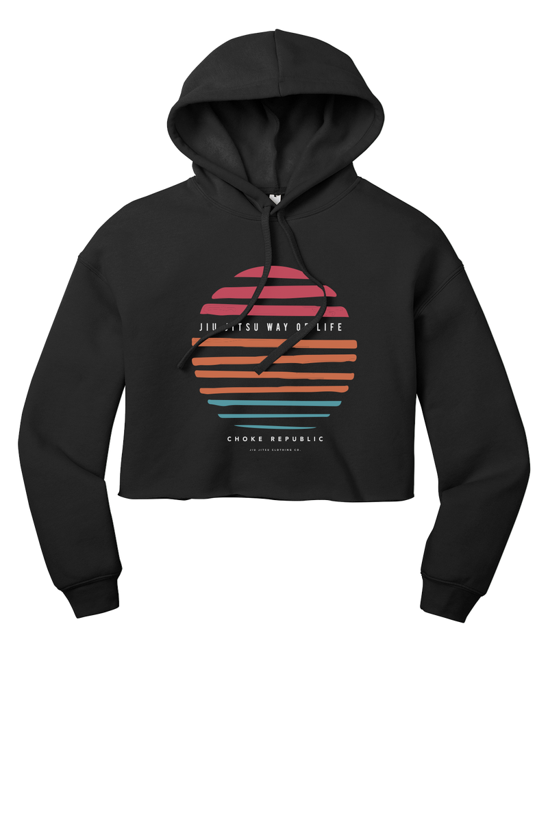 Way of Life V2 Women's Crop Hoodie