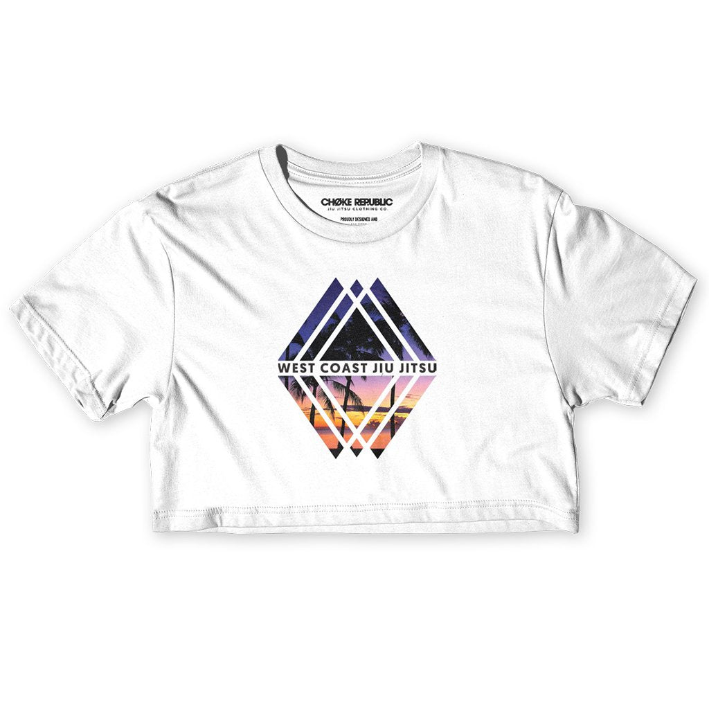 Choke Republic Diamond Women's Crop Top