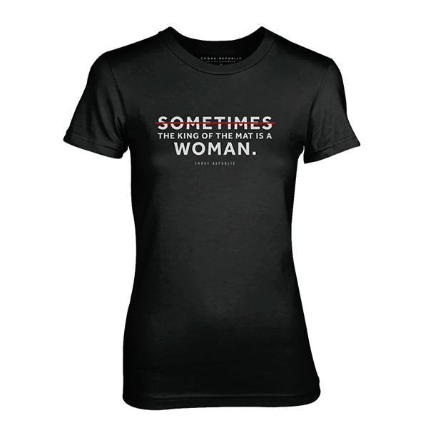 Choke Republic Sometimes Women's Tee - choke republic
