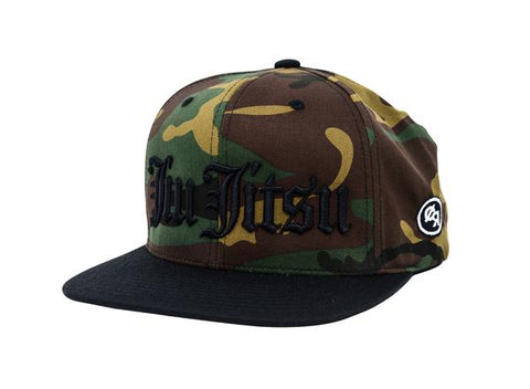 Jiu Jitsu Old English Snapback