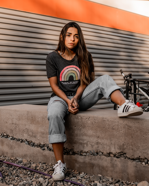 No Rainbows Women's Crop Tee
