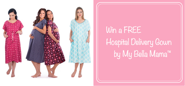 Win a Free Hospital Delivery Gown Giveaway