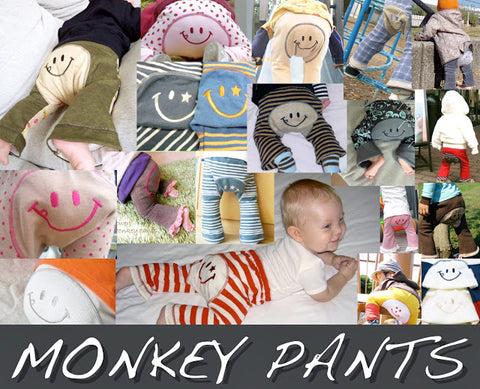 Monkey Pants for baby