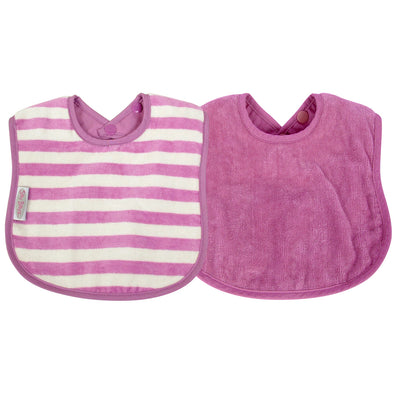 Water Resistant Organic Cotton Bibs 0-2 years - CLEARANCE