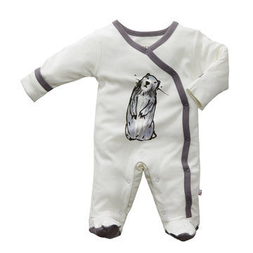 Janey Organic Baby One Piece Footie