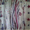 6 Pack Organic Muslin Swaddling Blankets - Berry