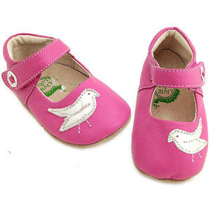Livie and Luca Soft Sole Leather Baby Shoes - Pio Pio Rose - Older Version