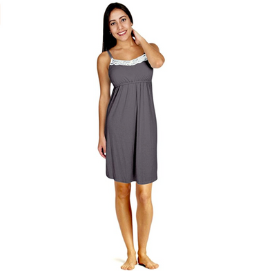 Nursing Nightie with Padding Support
