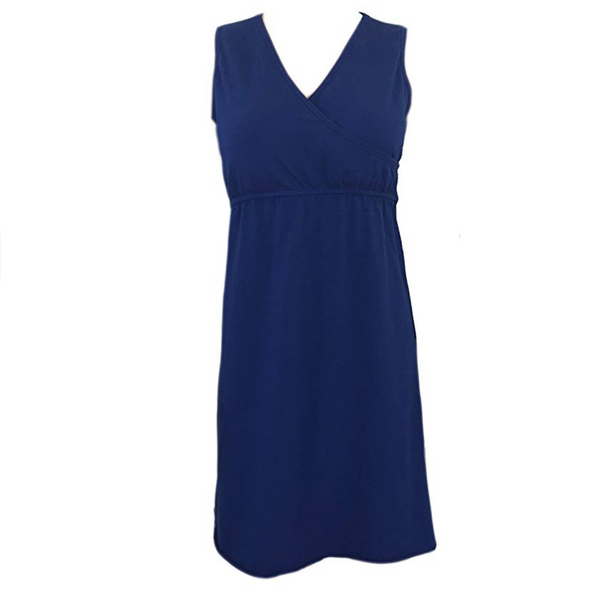 Sleeveless Nightgown with Built-in Padded Bra - CLEARANCE